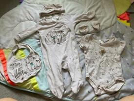 'We're going on a Bear Hunt' Sleepsuit outfit 0-3months