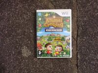 Animal Crossing Game for the Nintendo Wii with case & instructions