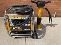 2017 JCB Beaver, Hydraulic Honda Engine Power Pack HM25 Anti Vibration Breaker, 2 steels.