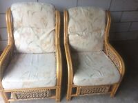 2 Seater plus 2 individual Low Back conservatory furniture set