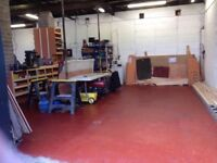 Workshop with yard space within secure yard off road entry to large secure entry gates