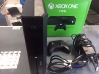 xbox one 1tb black includes controller and cables