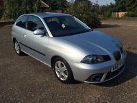 2007 SEAT IBIZA REFERENCE SPORT 1.4 TDI £30 ROAD TAX