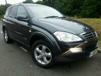 SSANGYONG KYRON M270 CDI SPORT*2009 59*NEW SHAPE*AUTOMATIC/TIPTRONIC*LEATHERS*#SUV#MERCEDES ML#X5#RX