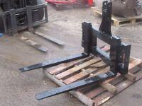 Tractor pallet forks for sale