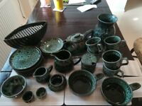 West Country green pottery for sale