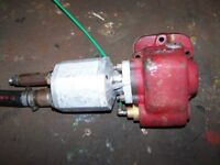 Euro Cargo Gearbox PTO and pump