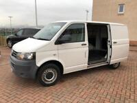 Facelift model 61reg 2011 year Volkswagen transporter T5 T28 TDI ideal day van 1 owner no vat