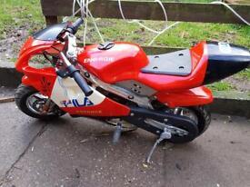Mini moto superbike