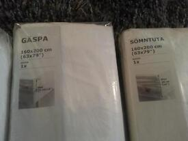 ikea king size douvet set and sheets new