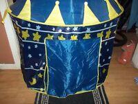 pop up castle tent