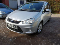 FORD C-MAX HPI CLEAR, CLEAN MOT EXP 28 JULY 2017, SPARE RADIO KEY, REAR PARKING SENSORS