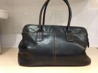 Ladies Black Faux Leather Bag