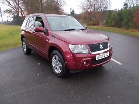 2006 06 SUZUKI GRAND VITARA 2.0 4X4 AUTO MOT JAN 2018 6 MONTH WARRANTY