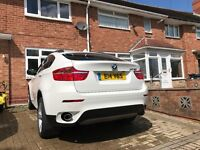 BMW X6 WHITE 3.0 DEISEL