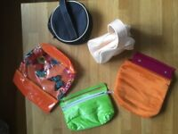 Assorted make-up bags, all unused, so as new condition.