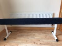 Gymnastic beam