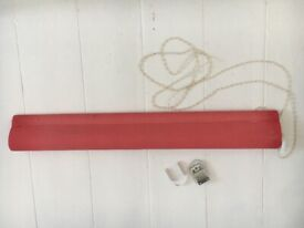 B&Q COLOURS RED BLIND CURTAIN 25 inches / 63.5 cm