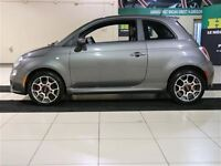 2013 Fiat 500 SPORT AUTO A/C CUIR MAGS