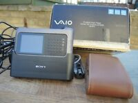 BOXED SONY VAIO MP3 40GB WITH ACCESSORIES SUPER RARE VINTAGE COLLCTABLE BARGAIN CLEAROUT BARGAIN