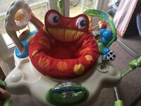 Used Fisher-Price Rainforest Jumperoo