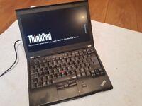 Lenovo Thinkpad X220 laptop Intel Core i7 processor SSD hard drive IPS Screen