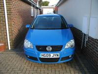 2009/09 1.4L Volkswagen Polo Match AUTOMATIC 3dr Genuine 15K Miles FSH £4795