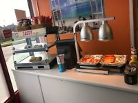 Sandwich Bar Business For Sale - Low Rent - Close to Town Centre