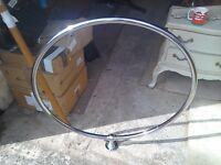 Stainless steal shower curtain ring