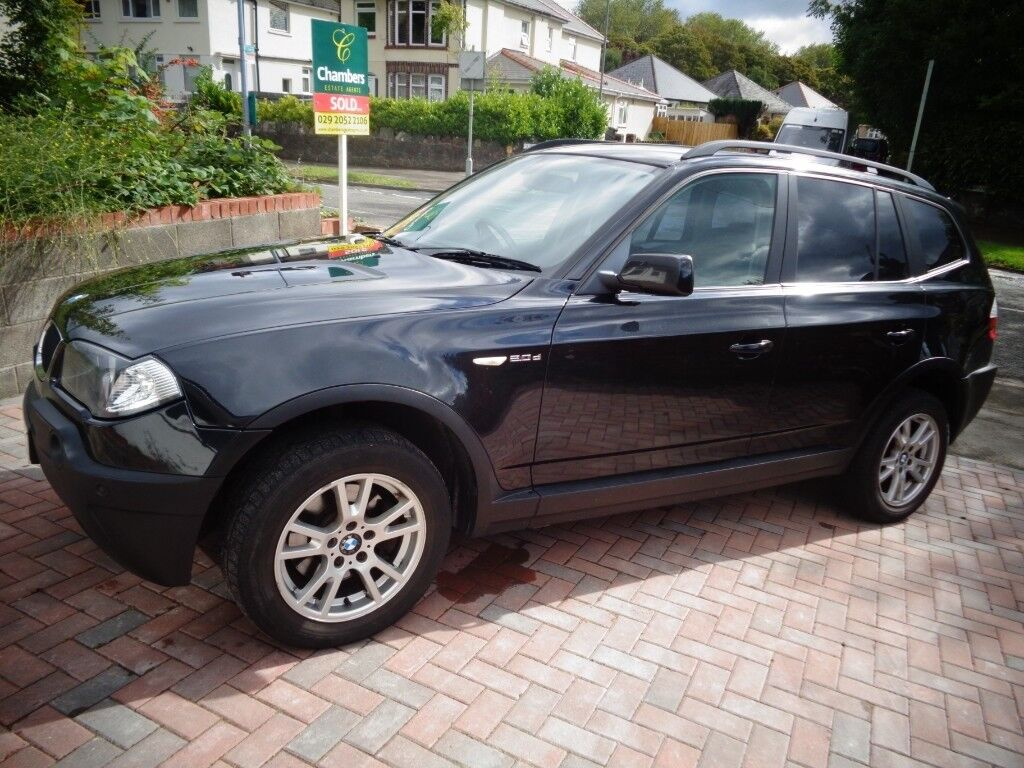 Bmw X3 D Se Black Full Leather 4x4 In Whitchurch Cardiff Gumtree