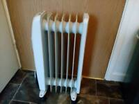 Oil filled heater