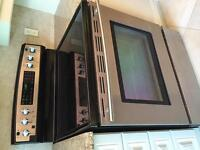 Amana fridge and Jennaire stove