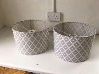 Lamp shade Geometric pattern