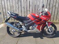 Honda cbr 125 £1100