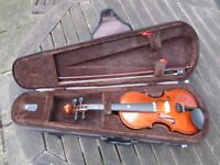 Stentor child's 1/8 violin with case