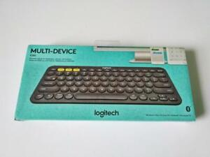 Logitech K380 Bluetooth Wireless Keyboard English Grey – New