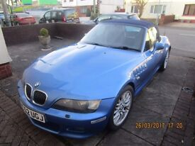 BMW Z3, 3.0i 2003, Convertible, soft top