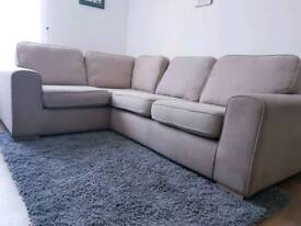 Dfs corner sofa.