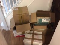 Cardboard moving boxes free