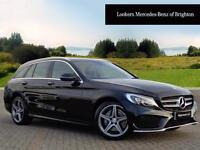 Mercedes-Benz C Class C220 D AMG LINE PREMIUM PLUS (black) 2016-12-06
