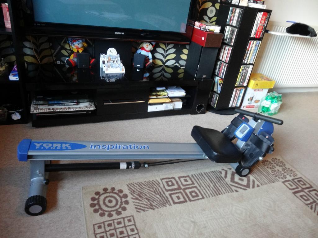 york rowing machine. york inspiration rowing machine