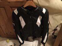 Rst leather bike jacket size 40
