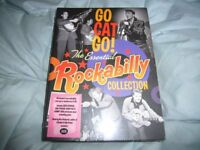 THE ESSENTIAL ROCKABILLY COLLECTION.4xCD BOX SET.BRAND NEW AND SEALED.