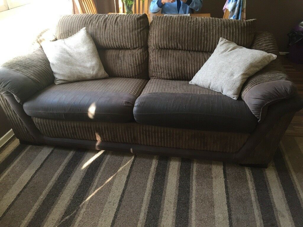 Dfs 3 seater sofa and 2 seater sofa bed