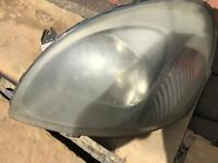 Toyota Yaris passenger side headlight
