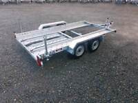 12ft Transporter Trailer ramps whinch brakes lights rally stock hill climb cars