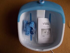 Bubble Foot Spa by Visiq Massage and Heat