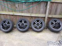 205 55 R16/ 4 Stud Alloy Wheels