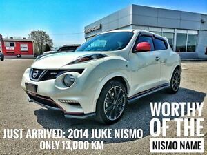 2014 Nissan Juke NISMO AWD  FREE Delivery