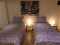 Spacious & Comfortable Large 1 bed Serviced Flat / Apartment - Short Term & Corporate Let - £250 p/w